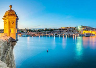Malte-Malta-Fort-Saint-Michael-gardjola
